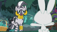 Zecora unable to understand 'Angel' S9E18