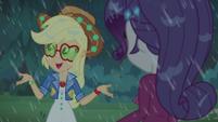 "Applejack ""if it's rainin' cats and dogs"" CYOE13a"
