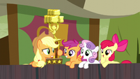 Applejack -since when are y'all so into rodeo clowns-- S5E6