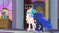 """Celestia """"we know you're busy planning"""" S9E17"""