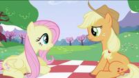 Fluttershy and Applejack S2E03
