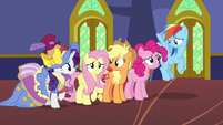 Main five looking concerned S7E14