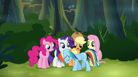 """Main ponies """"we can't go back now"""" S4E04"""