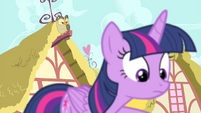 Owlowiscious in the background behind Twilight S4E23