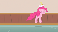 Pinkie Pie hippity hop S2E13