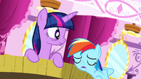 """Rainbow Dash """"didn't think mine was that scary"""" S5E13"""