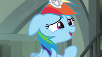 Rainbow Dash 'but of course' S4E04