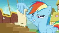 Rainbow Dash -eat only soft foods- S8E5