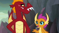 """Smolder """"only one Garble will perform for"""" S9E9"""