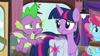 """Spike """"still think you can win?"""" S9E16"""