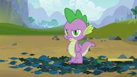 Spike isn't convinced S03E09