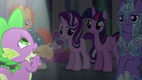 Spike singing his heart out S6E16