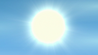 Sun shining over the Wonderbolt Academy S6E24