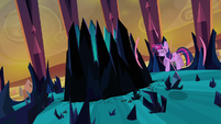 Twilight trying to teleport out S3E2