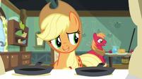 """Applejack """"somepony's feeling better"""" S5E4"""