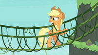"""Applejack """"why use a branch when"""" S8E9"""