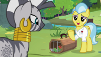 """Dr. Fauna """"doesn't have a problem at all"""" S9E18"""