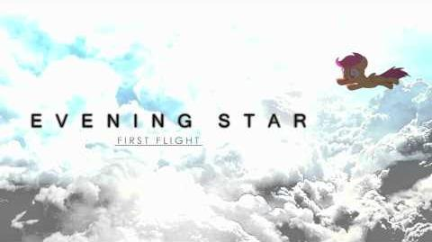 Evening Star - First Flight