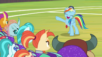 """Rainbow """"any way that could've been better!"""" S9E15"""