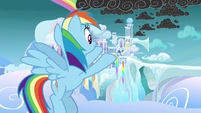 """Rainbow Dash """"comes from there"""" S8E25"""