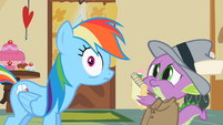Rainbow Dash laughed at S2E8