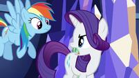 "Rarity ""all her Rainbow Dash trophies?"" S5E3"