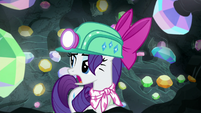"""Rarity """"refrain from all of that racket"""" S8E17"""