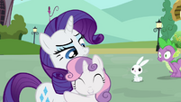 """Rarity and Sweetie Belle """"lucky guess?"""" S03E11"""