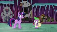 "Spike ""he's probably got some magic"" S8E26"