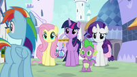 """Spike """"they're not the only ones"""" S9E24"""