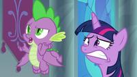 """Spike curious """"princesses can retire?"""" S9E1"""