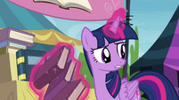 """Twilight """"sit up there all alone doing nothing"""" S4E22"""