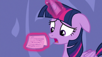 "Twilight Sparkle ""I'd rather not associate with"" S6E22"