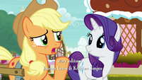 "Applejack ""I had to say it again because"" S7E9"