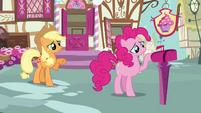 Applejack 'Rainbow Dash hasn't even been gone twenty-four hours yet' S3E07
