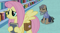 Martingale sighing behind Fluttershy S9E21