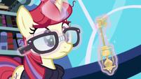 Moon Dancer straightens her glasses S5E12