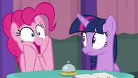 Pinkie Pie gasping happily S9E16