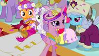 Princess Cadance walking down aisle S2E26