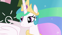 Princess Celestia looks at her other students S7E1