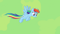 Rainbow Dash looking for Daring Do S4E04