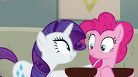 """Rarity """"you stay here and make sure"""" S6E12"""