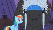 S01E21 Rainbow Dash i wódz bizonów
