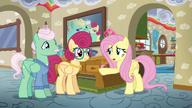 S06E11 Fluttershy rozmawia z rodzicami