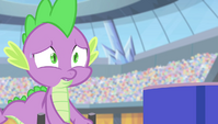 """Spike """"tell me this isn't happening"""" S4E24"""