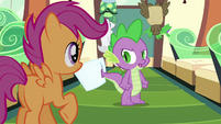 """Spike """"we're not really going"""" S03E11"""
