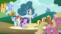 Starlight trying to calm down S6E6