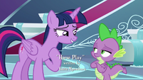 """Twilight """"wanted to be in a play"""" S8E7"""