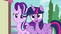 """Twilight Sparkle """"the bear is a changeling"""" S7E15"""