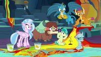 Young Six look at the mess they made S9E3